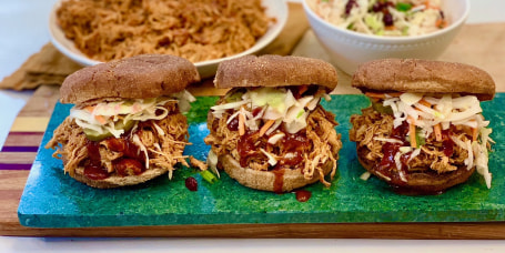 Joy Bauer's BBQ Pulled Chicken Sandwiches
