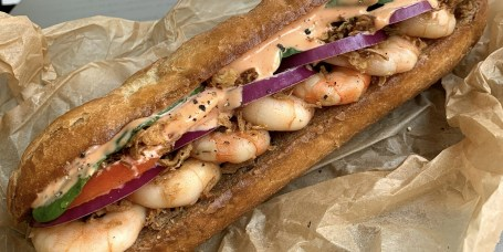 Shrimp Hoagie Sandwich