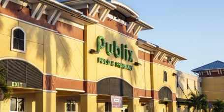 Florida, Fort Myers, Publix, supermarket Entrance