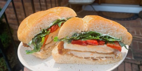 Katie Stilo's Chicken Cutlet Sandwich