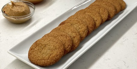 Miso and Peanut Butter Cookies