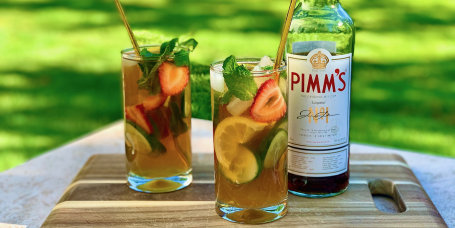 Joy Bauer's Pimm's Cup