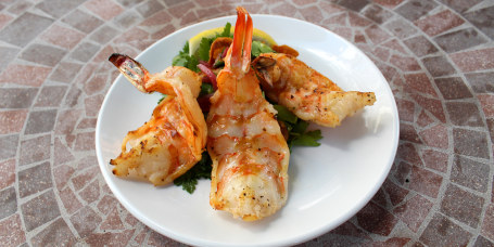 Butterflied Jumbo Grilled Shrimp