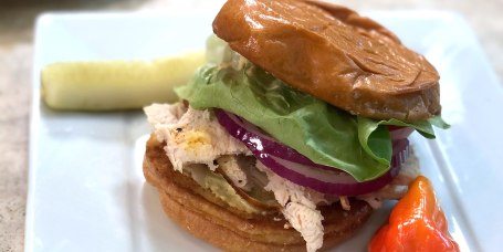 Patti LaBelle's Fuss-Free Chicken Sandwiches