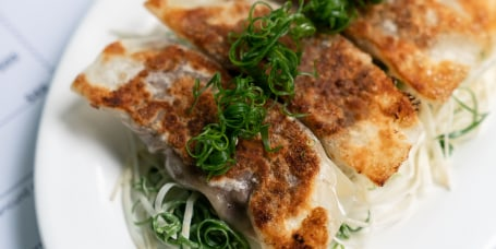 Short Rib Pan-Fried Dumplings