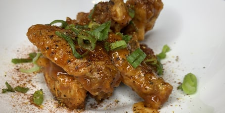Jernard Wells' tipsy tequila chicken wings
