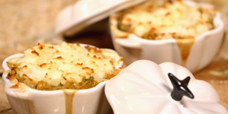 Sandra Lee's Holiday Shepherd's Pie