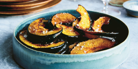 Kristin Cavallari's Roasted Maple Balsamic Acorn Squash
