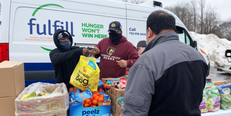 Fulfill food bank helps starving girl