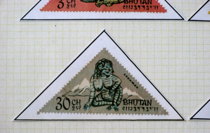 Postcards from bhutan Why do we put stamps on letters