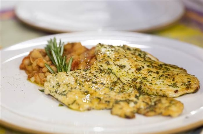 Pounded chicken breast recipe