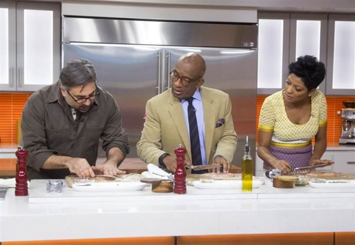 TODAY Show: Marco-Canora cooks up 90-second chicken on TODAY -- February 9, 2015.
