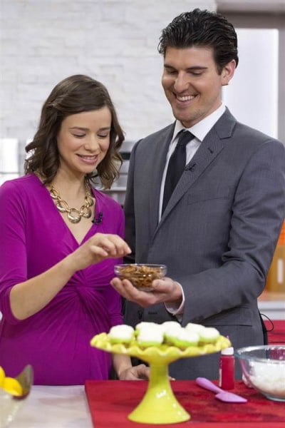 "TODAY Show: Christina Lane makes Valentine's Day ""Dessert for Two"" in Studio 1A -- February 12, 2015."
