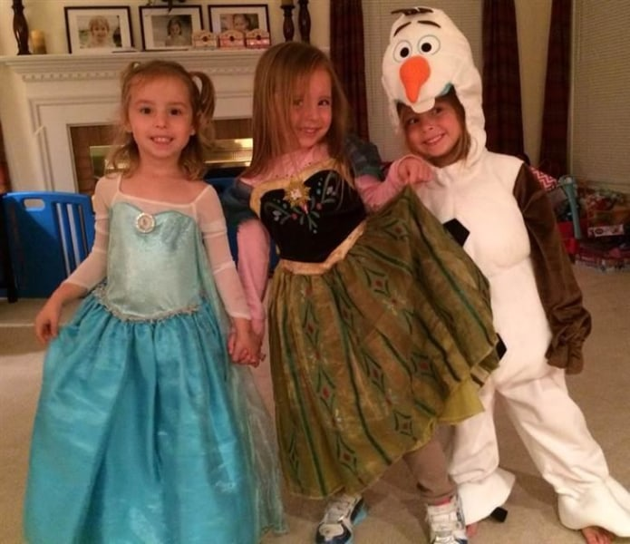 frozen costumes - Simple And Creative Halloween Costumes