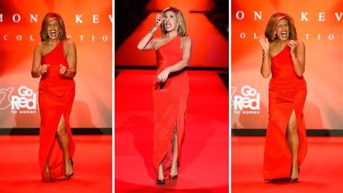 New York Fashion Week Hoda Kotb Shows Off Her 39 Uptown