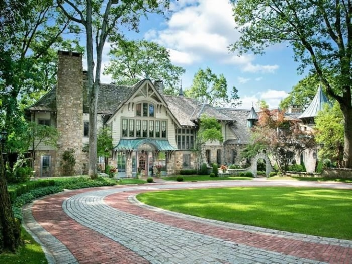 live happily ever after in one of these real fairy tale homes todaycom - Garden Homes Nj