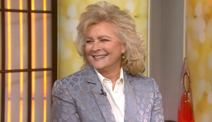 Candice Bergen on today show
