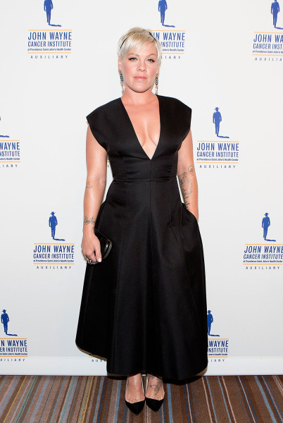 Pink slams body-shaming critics with an inspiring response: 'I feel beautiful'