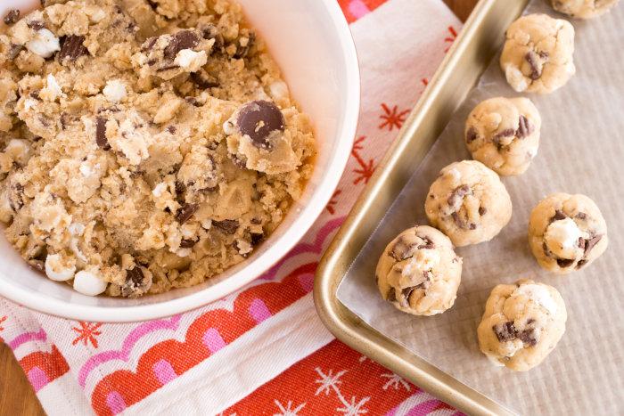 Freeze-and-Bake Cookie Dough recipe