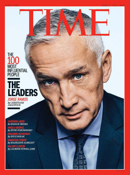 TIME Magazine's 100 Most Influential People: Jorge Ramos