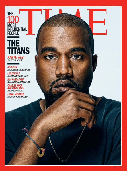 TIME Magazine's 100 Most Influential People: Kanye West