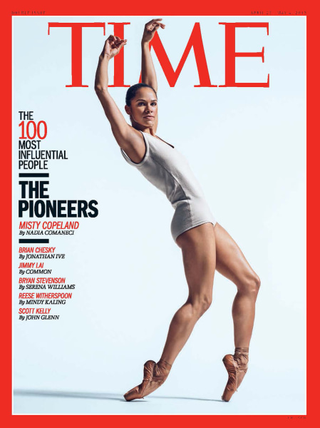 TIME Magazine's 100 Most Influential People: Misty Copeland
