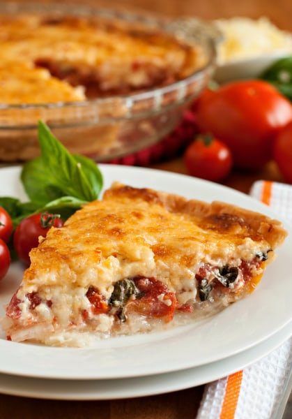 Dinner in a pie shell one dish recipes beyond quiche today a family feast forumfinder Gallery