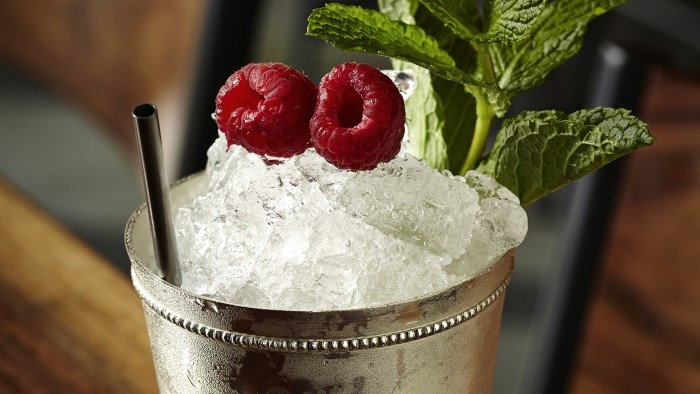 Picasso Julep from Kapnos Restaurant and Bar Washington DC