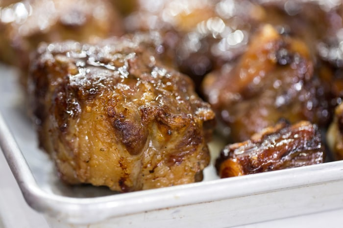 Al Roker cooks oxtail stew and dumplings