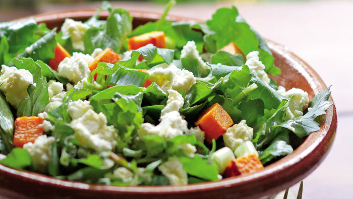Sweet Potato and Arugula Salad from Ikaria