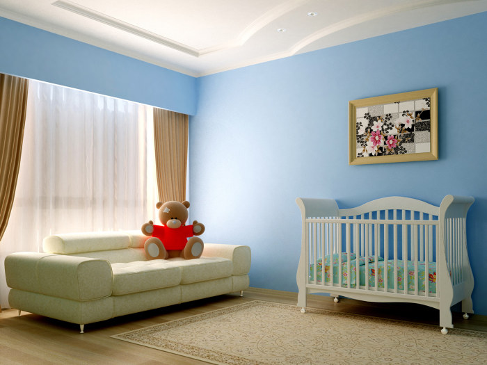 FeaturePics com  Blue baby room. Blue is the best bedroom color for a good night s sleep   TODAY com