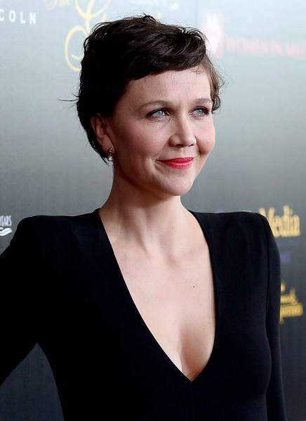 Maggie Gyllenhaal at the 40th Anniversary Gracies Awards - Arrivals Maggie Gyllenhaal