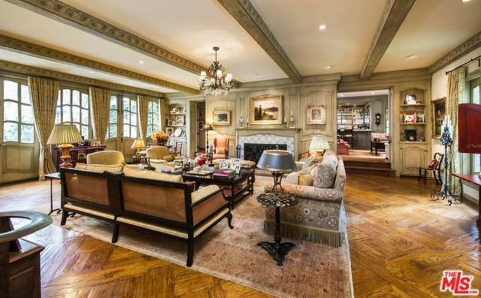 See Inside Ozzy And Sharon Osbourne S Rustic Home In