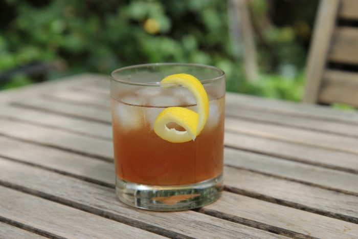 Maple Rum Cocktail