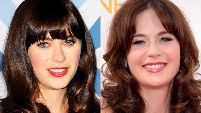 Bangs Or No Bangs Celebrity Hairstyles Today Com