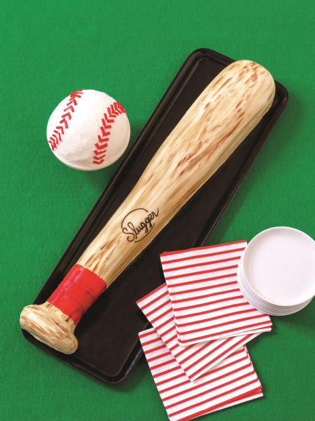 Baseball cake by Karen Tack