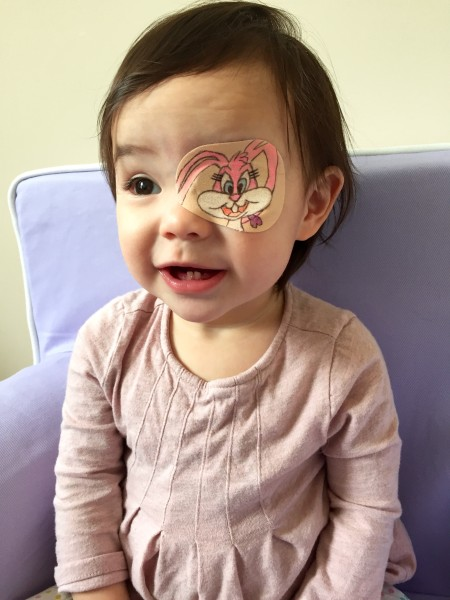 Dad Makes Daughter S Eye Patch A Work Of Art Every Day
