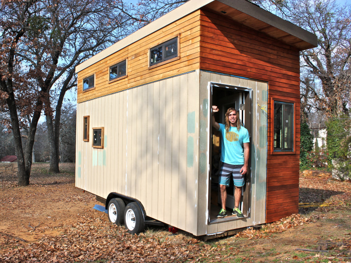 College student builds tiny home to graduate debt free TODAYcom