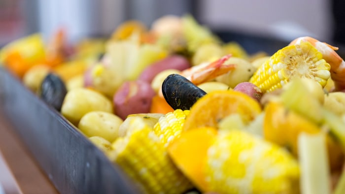 SortedFood cooks up Louisiana-inspired shrimp boil and fried pickles
