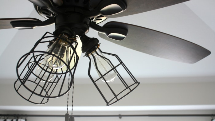 Beat the heat! Revamp your ceiling fan with this DIY