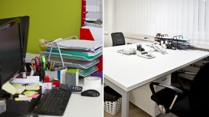 Simple Decluttering Tricks For Your Workspace Today Com