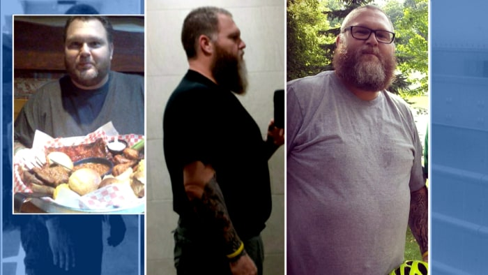 Trucker lost 65 pounds by cooking vegan meals on the road