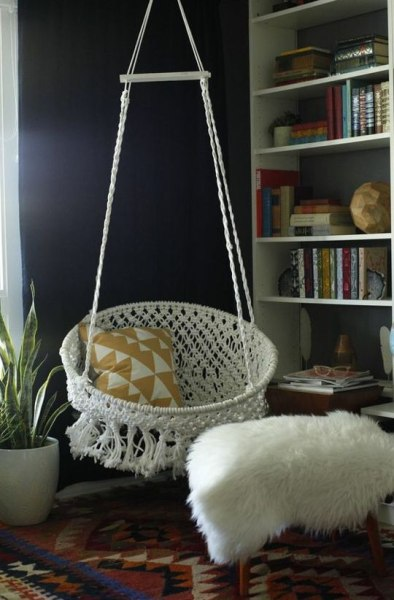 diy macrame hanging chair diy hammocks and swing chairs today 998