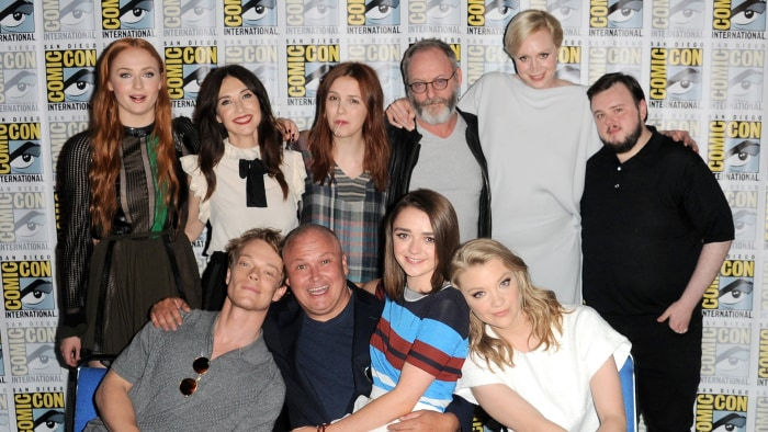 See The Game Of Thrones Cast Out Of Costume At Comic Con