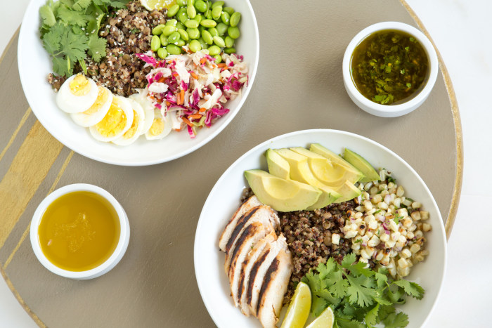 Need new healthy lunch ideas try our diy power bowl for Lunch food ideas