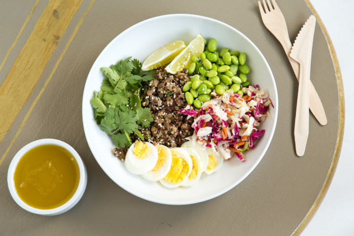 Need new healthy lunch ideas try our diy power bowl recipes today casey barber forumfinder Choice Image