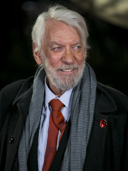Happy birthday, Donald Sutherland! The 'Hunger Games ...