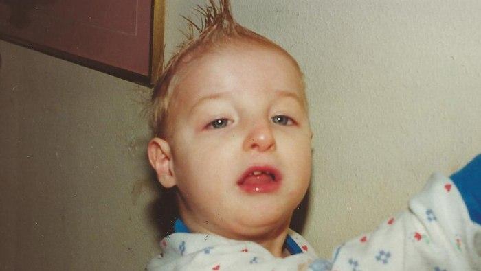Matthew Hernandez as a baby