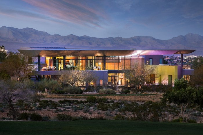 Look Inside This Recently Listed Modern Las Vegas Mansion