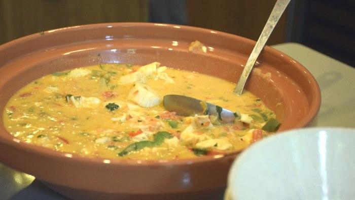 Natalie's moqueca (Brazilian seafood stew)